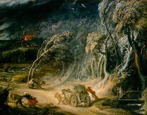 Rubens en storm